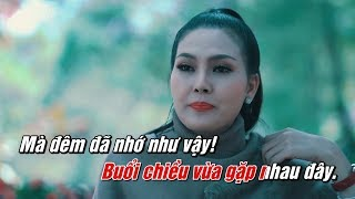 Karaoke   Lại Nhớ Người Yêu - Hoa Hậu Kim Thoa   Tone Nữ