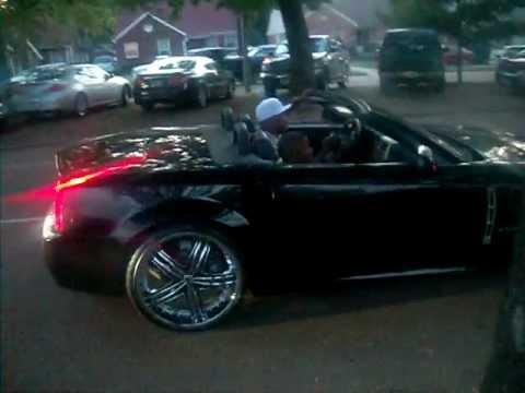 Cadillac Xlr On 20 22 Inch Giannis Youtube