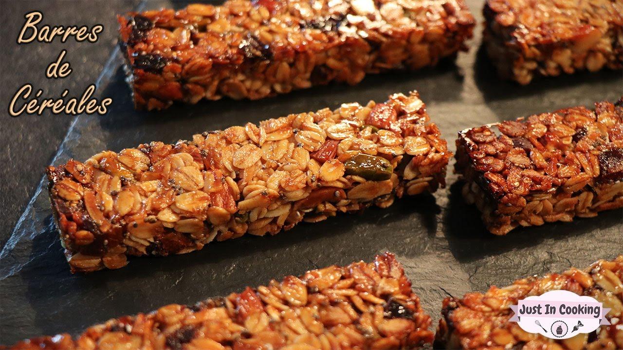 Recette de Barres de Céréales ou Granola Maison