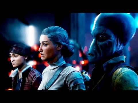 STAR WARS: BATTLEFRONT 2 THE LAST JEDI DLC ENDING (Resurrection) 1080p HD