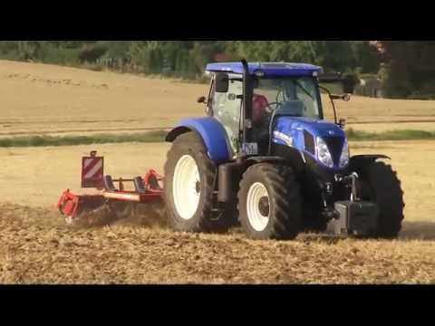 HORSCH production for new agricultural technology, amazing tractors ploughing fields