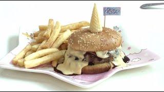 Не рогом единым: одно из самых странных кафе мира предлагает посетителям гамбургеры с рогами