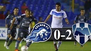 Resumen Celaya 0-2 Monterrey Llave 2-Ida Copa MX