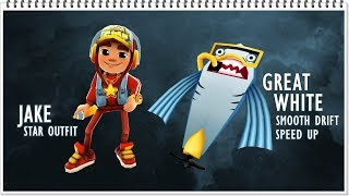 Subway Surfers - Great White Board / Speed Up & Smooth Drift | LONDON