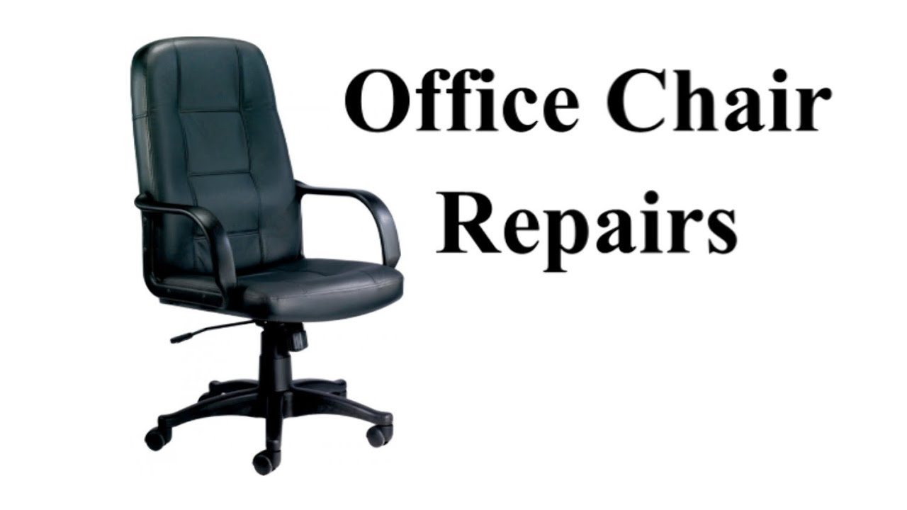 Chair Repair Parts Office Chair Repairs Youtube