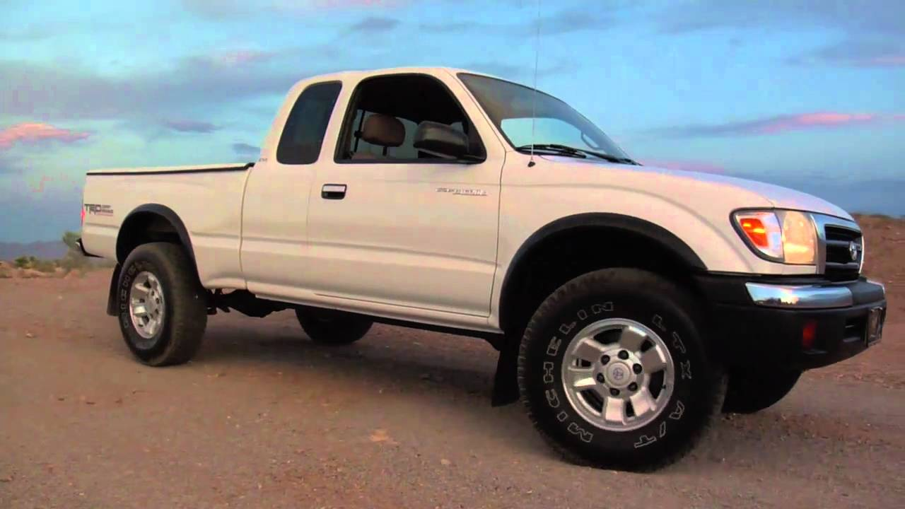 1999 Toyota Tacoma Pre Runner Test Drive Youtube Mov Youtube