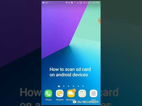 How to Scan SD Card on Android devices