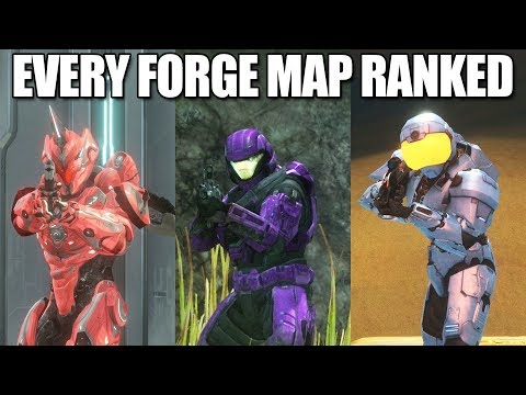 EVERY Halo Forge Map Ranked From Worst To Best