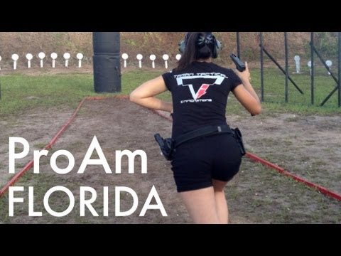 Jessica Hook Shooting Steel at the Pro-Am Florida 2013 :D with TTI Glock 34