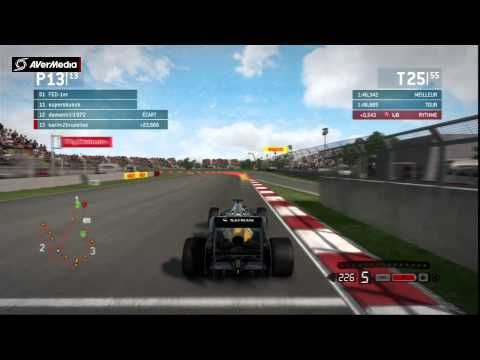 F1 2013 COREE ps3 13-4-2014 GAMERS ONLINERS 1 FOIS :-)