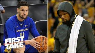 Warriors, Nets could regret signing Klay Thompson and Kevin Durant - Max Kellerman | First Take