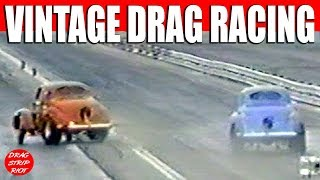 1990 Vintage AA/Gassers Hot Rods Part 3 Best of Famoso Raceway  Willys Nostalgia Drag Racing Videos