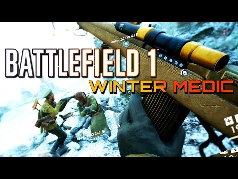 Battlefield 1: Winter Medic - Tsar DLC (4K 60 FPS PS4 PRO Multiplayer Gameplay)