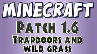 Minecraft - Patch 1.6: Trapdoors, Maps and Wild Grass!