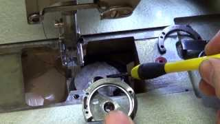 Sewing 101 Industrial Pfaff  Rotary Hook removal on 145 machine