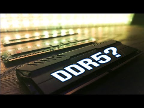 When is DDR5 coming to a PC near you...?