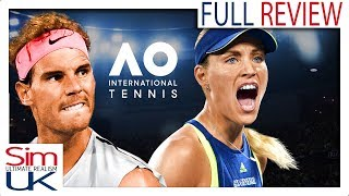 Any Good? AO International Tennis Review by Sim UK (FIRST LOOK) (PC)