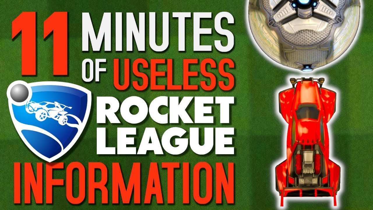 40 things you probably didn't know about Rocket League