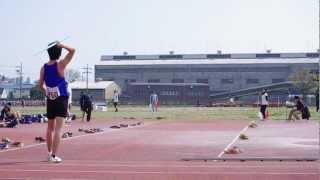 2013/04/04 枚方陸上競技場 男子やり投げ