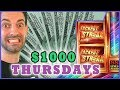 💰 $1000 Jackpot Streak ✦ Thousand Dollar Thursdays ✦ Slot Machines and Pokies w/ Brian Christopher