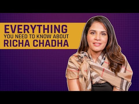 MensXP: Richa Chadha Interview | Everything You Need To Know About Richa Chadha