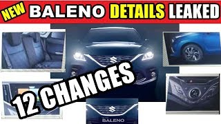 New Baleno Facelift 2019 all details leaked with new video | 12 changes in new baleno | ASY
