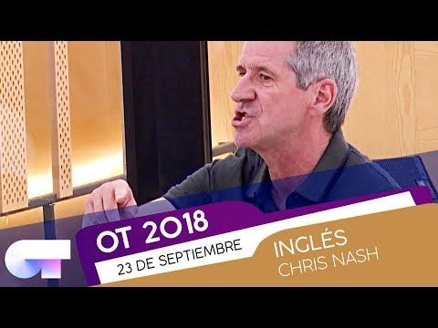 Clase de INGLÉS con CHRIS NASH (23SEP) | OT 2018