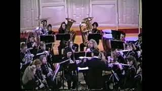 New Lebanon-Dixie High School Band: Dec 15, 1991 Men of Ohio (Fillmore)