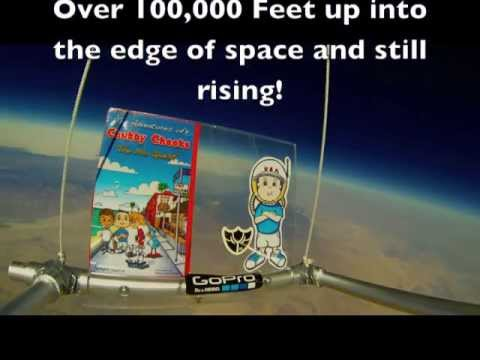 First Children's Skateboarding Book In Space!