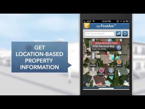 MyFirstAm™ Residential Real Estate App From First American Title