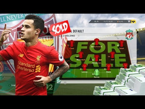 "FIFA 17 LIVERPOOL ""SELL THE WHOLE TEAM & REBUILD CHALLENGE VS FNG!"" FIFA 17 EXPERIMENT"