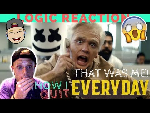 EPIC Rant Reaction to Logic x Marshmello Everyday video 😱Who can RELATE?! (+How I Quit the Job )