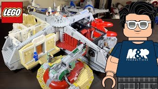 LEGO Star Wars 75222 Betrayal at Cloud City Review! | First Master Builder Series Set!