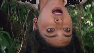 Juhi chawla gets trapped in the forest - bollywood movie scene | safari