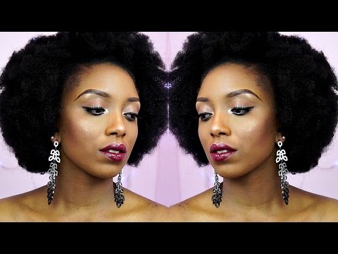 How To Kinky Afro Crochet Braids Tutorial On Short Natural Hair