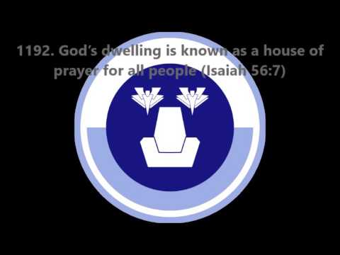 1192. God's dwelling is known as a house of prayer for all people (Isaiah 56:7)