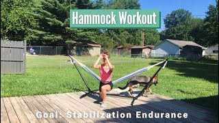 Hammock Stabilization Workout