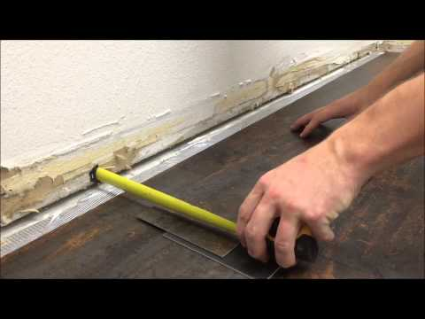 How to Install Plank Vinyl- Glue Down