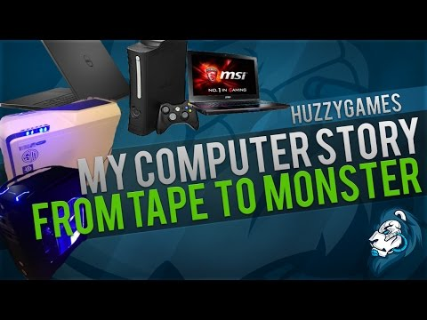 My Computer Story - From Tape to Monster