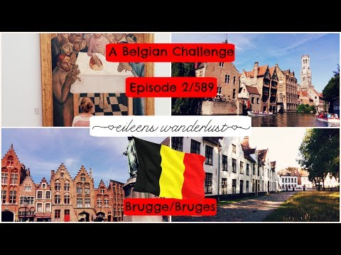 Visit Belgium -  2/589 – The medieval city of Bruges – Belgian chocolate, beer, fries and artists