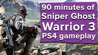 90 minutes of Sniper Ghost Warrior 3 gameplay - Live stream thumbnail