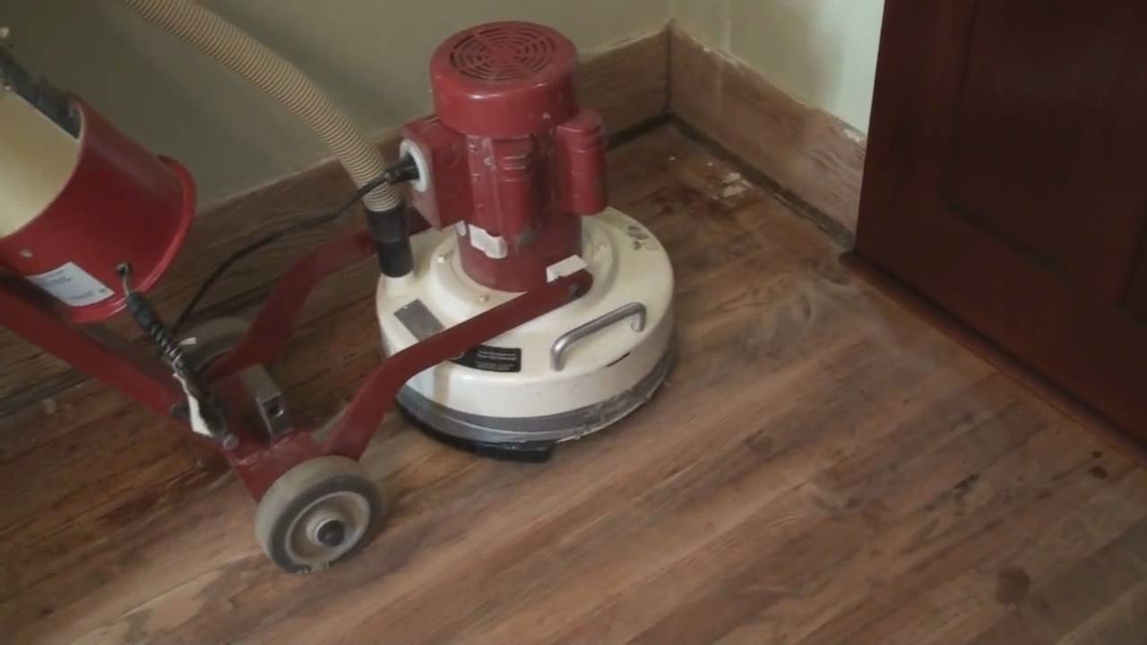 Diy Sanding Our Floors Youtube