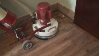 DIY Sanding Our Floors