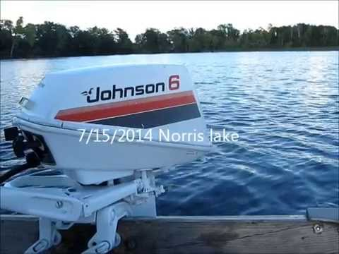 1979 Johnson 6hp outboard motor