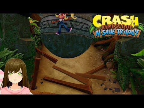 Crash Bandicoot N. Sane Trilogy Level 15 - Boulder Dash