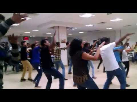 Flash mob at Continental - Feb 2015