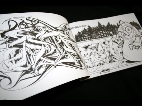 RAW CREW - The Kalis Alliance PART 1 | Graffiti Colouring Book