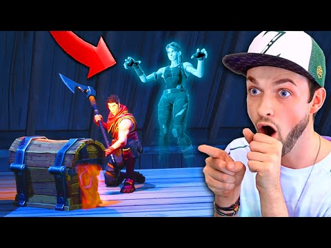 WARNING - There are GHOSTS in Fortnite...