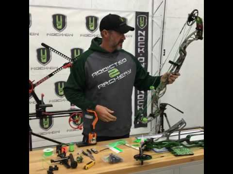 John Dudley builds Hoyt Pro DEFIANT Live for NockOnTV Facebook