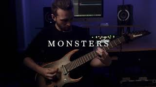 Currents - Monsters (guitar playthrough)